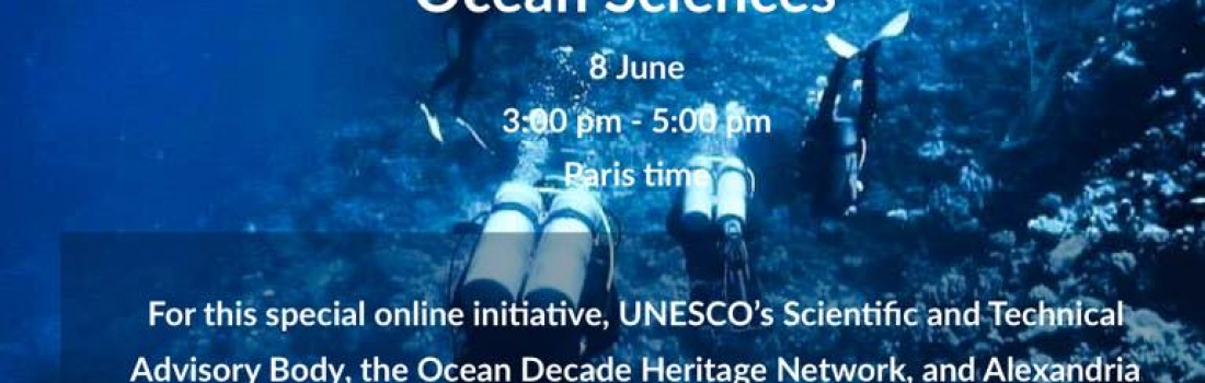 """The Ocean's past – Underwater Archaeology and Ocean Sciences"""
