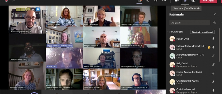 The First Virtual Meeting for the International Committee on Underwater Cultural Heritage (ICUCH).