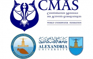 Alexandria Centre for Maritime Archaeology is officially a CMAS Scientific Diving Centre