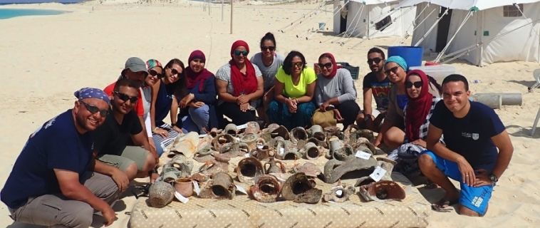 The Marsa Bagoush Excavation Project 2017 funded by Honor Frost Foundation