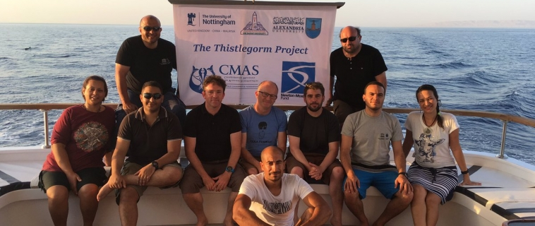 "SS Thistlegorm – The Red Sea's Greatest Shipwreck ""Project 2017″. funded by Newton-Mosharafa Program"